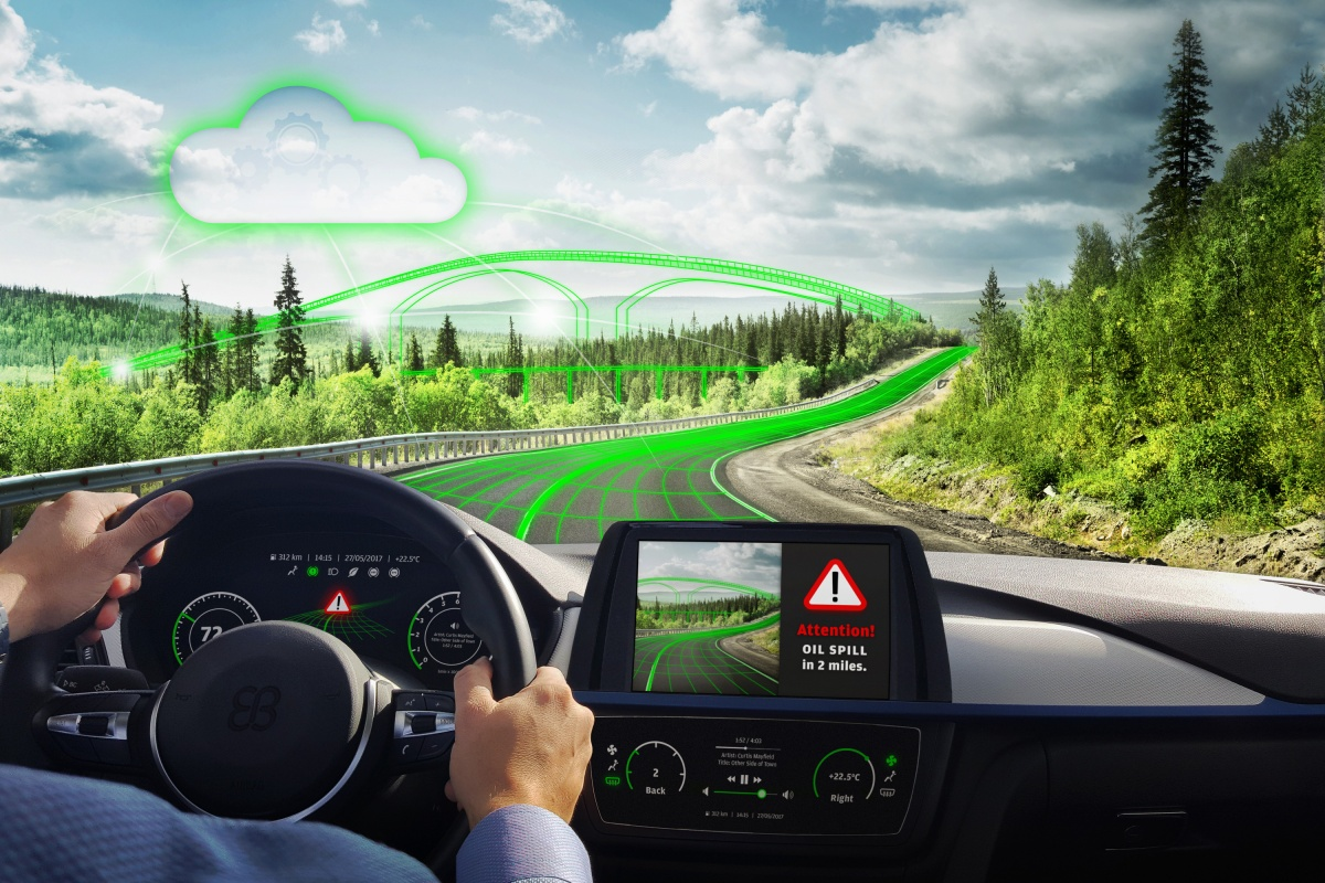 TomTom map data and the Predictor solution combine for information on the road ahead
