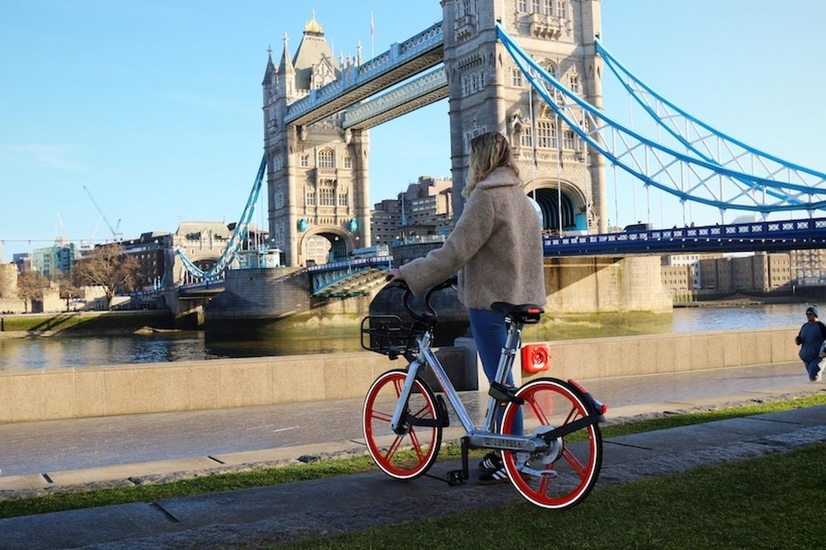 Mobike has launched its dockless bikes in the London borough of Southwark