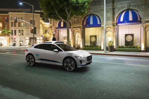 Jaguar and Waymo team in robo-taxi deal