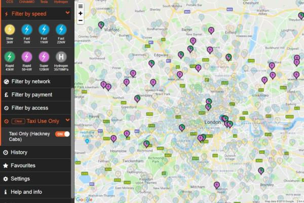 Zap-Map integrates new EV charging network