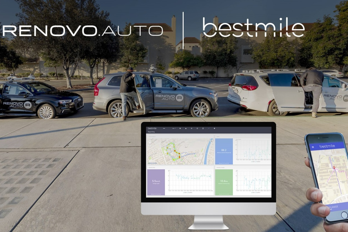 Bestmile and Renovo are integrating their smart mobility technologies