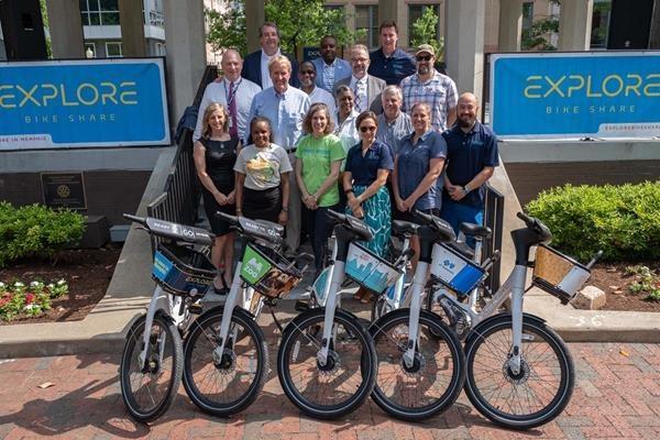 Memphis launches smart bike-share
