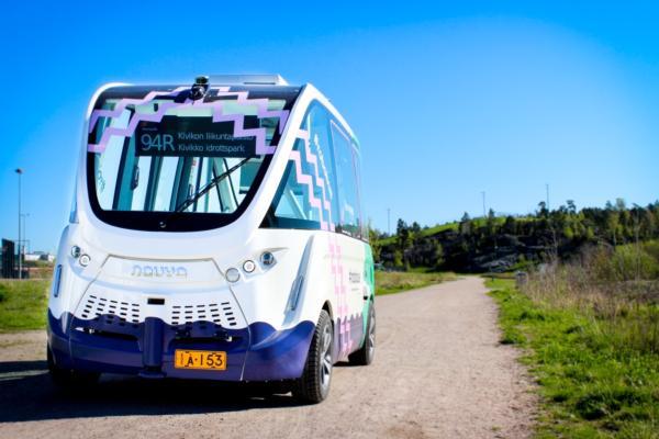 Helsinki self-driving bus goes on schedule
