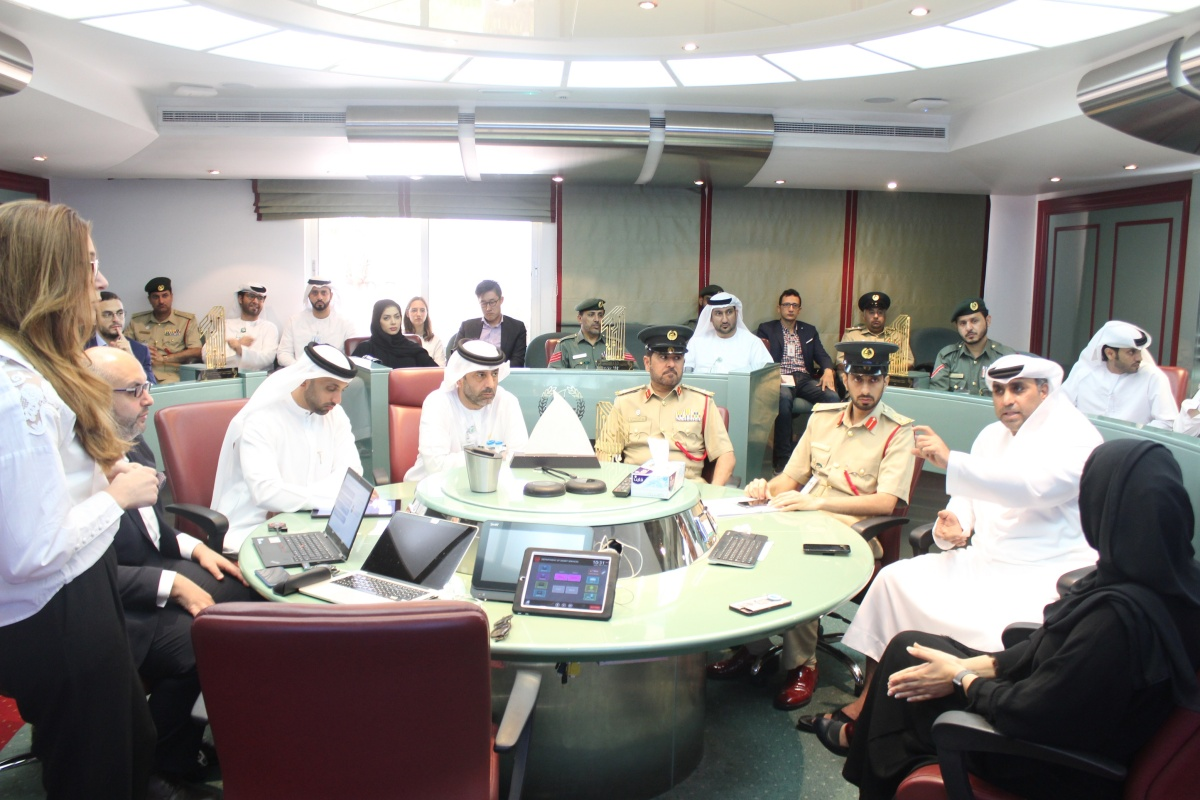 Dubai Police and Dubai Water and Electricity Authority are among those involved