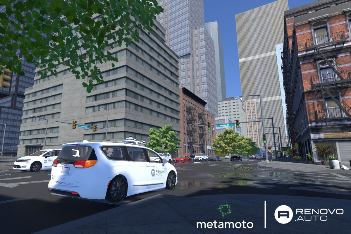 Metamoto's technology allows mobility testing in a risk-free environment