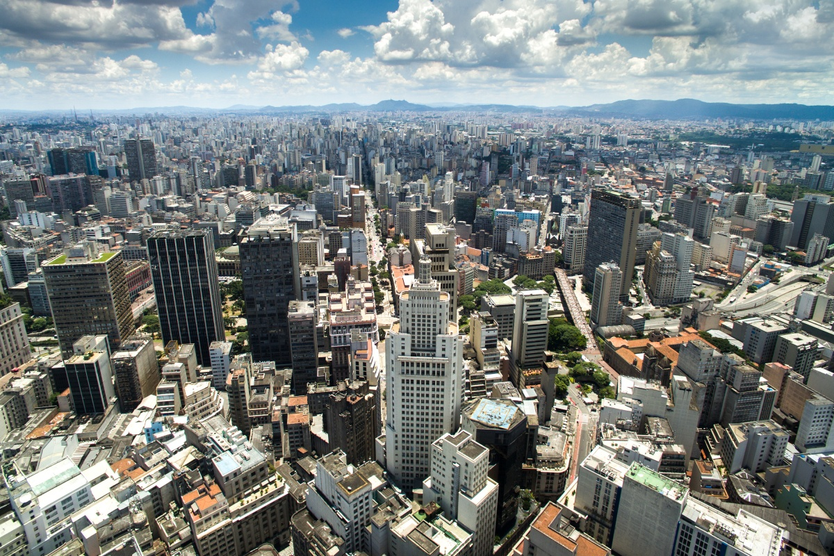 São Paulo is the fourth largest city alongside Mexico City with around 22 million inhabitants