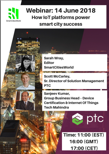 WEBINAR Recording: IoT Platforms Power Smart City Success