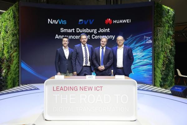 City of Duisburg progresses its road to smart