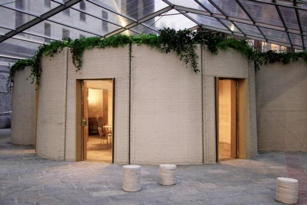 3D printed house unveiled in Milan