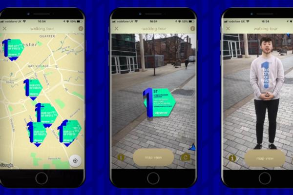 Discovering Manchester through AR tech