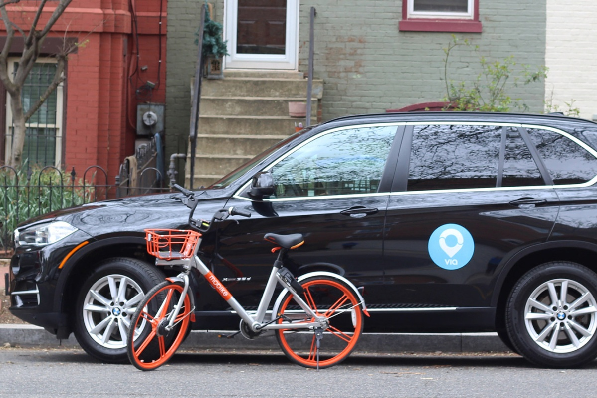 Ride- and bike-share is available to Washingtonians in one subscription