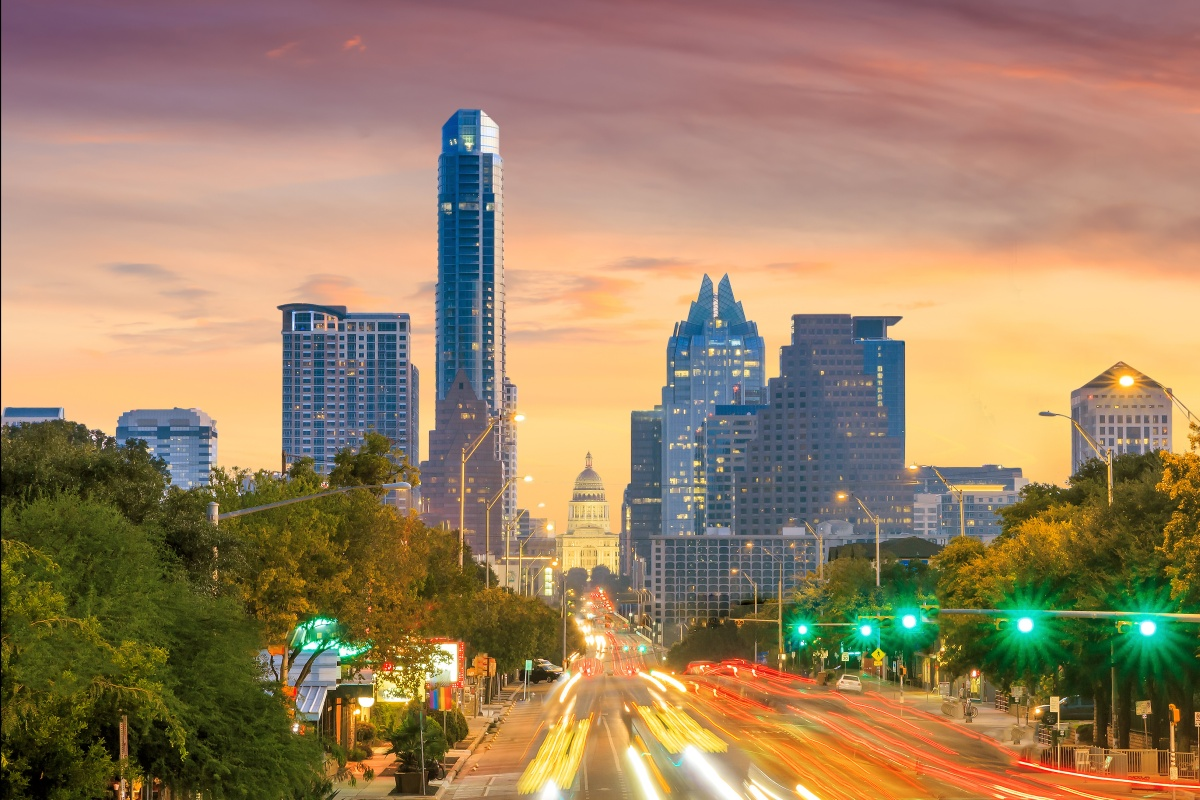 Austin is one of the North American cities where tech is fuelling new construction