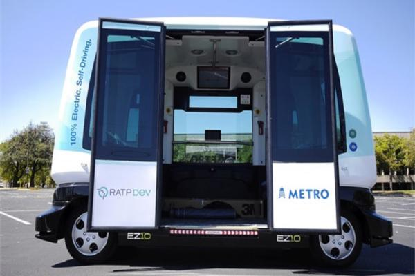Austin to run US' largest autonomous bus pilot
