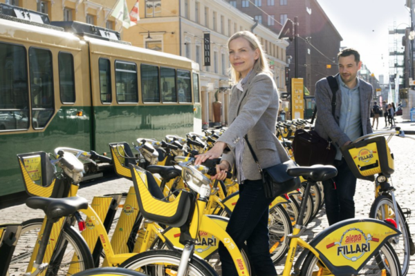 Helsinki bike-share scheme to use AI