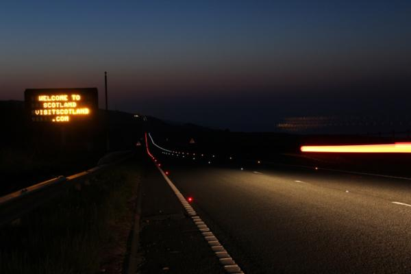 Scottish LED road stud scheme recognised