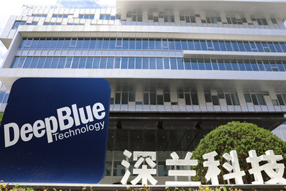 Shanghai-based DeepBlue is one of the fastest growing companies in the AI industry