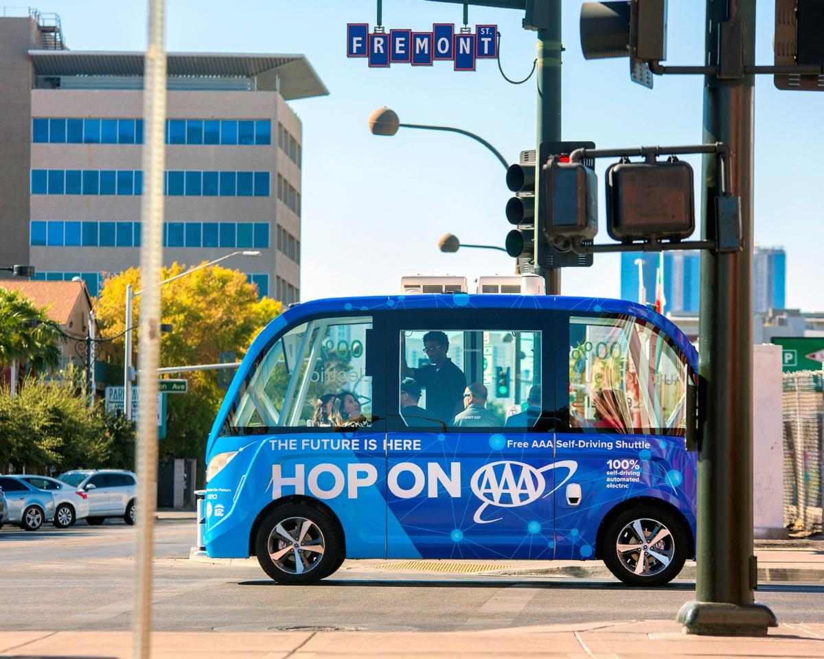 Self-driving shuttles and traffic safety are good IoT bets