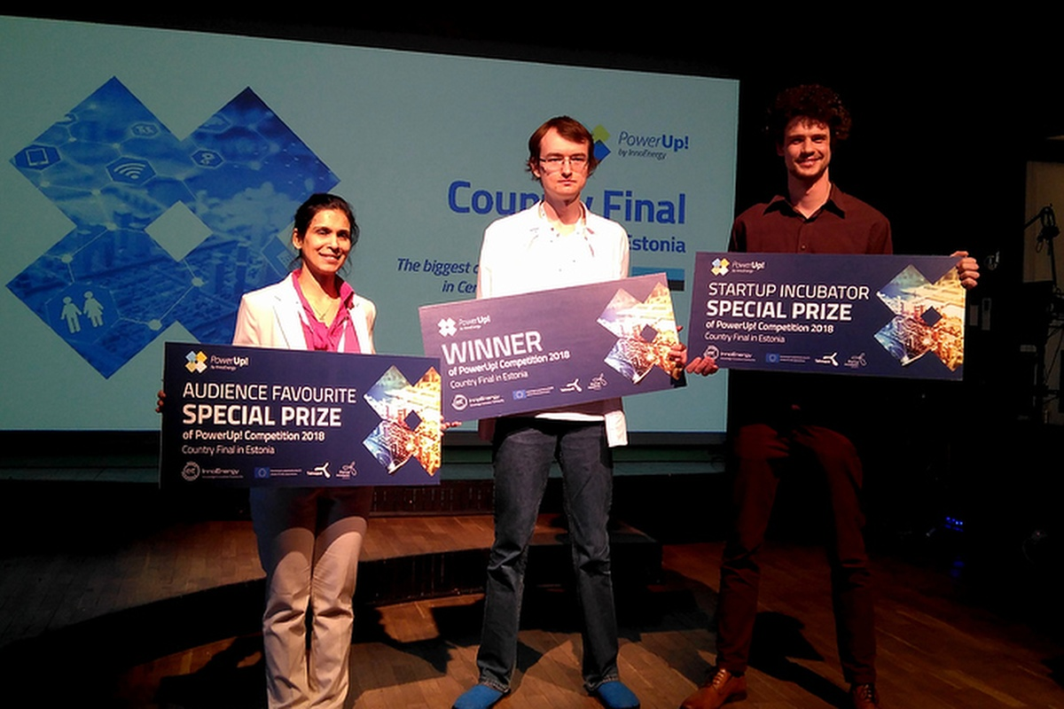 The Zubax Robotix team was awarded €30k cash prize in the PowerUp! competition