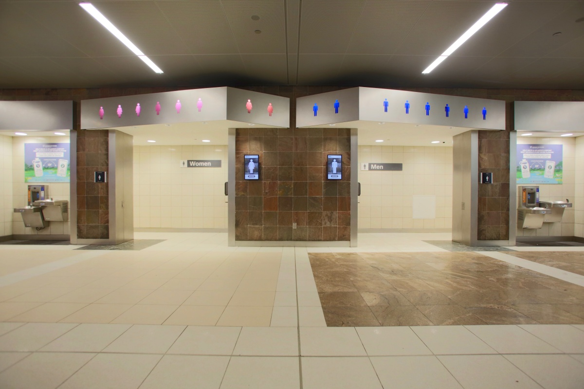 Smart Restrooms Gather Momentum At Airports Smart Cities World