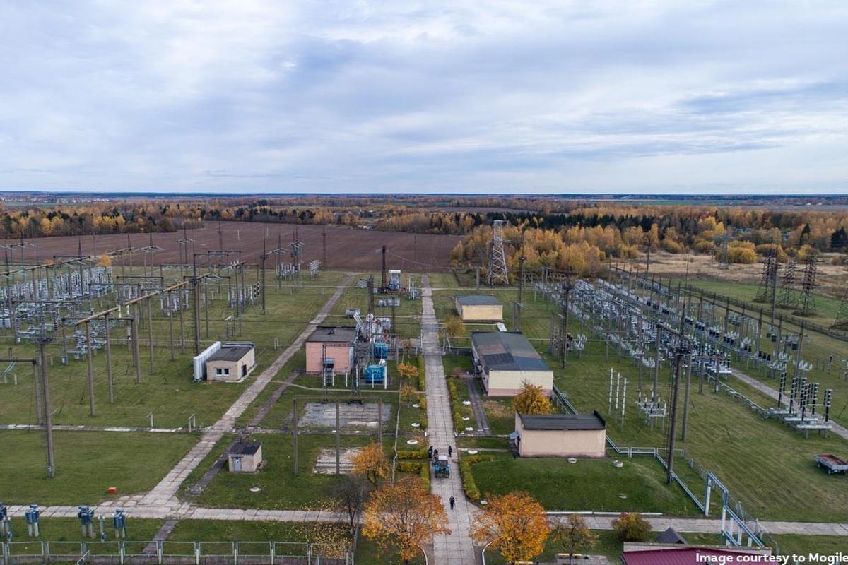 The world's largest digital substation in Belarus. Image courtesy: Mogilevenergo