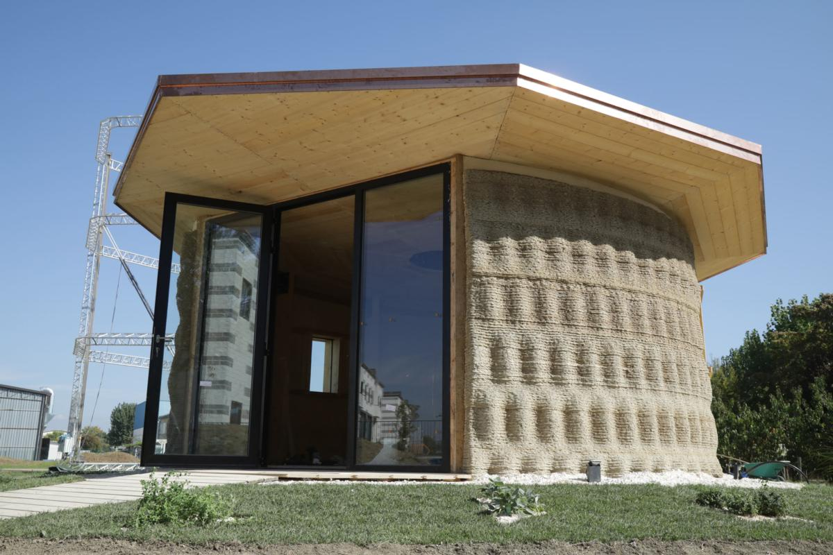First 3d Printed Mud House Smart Cities World