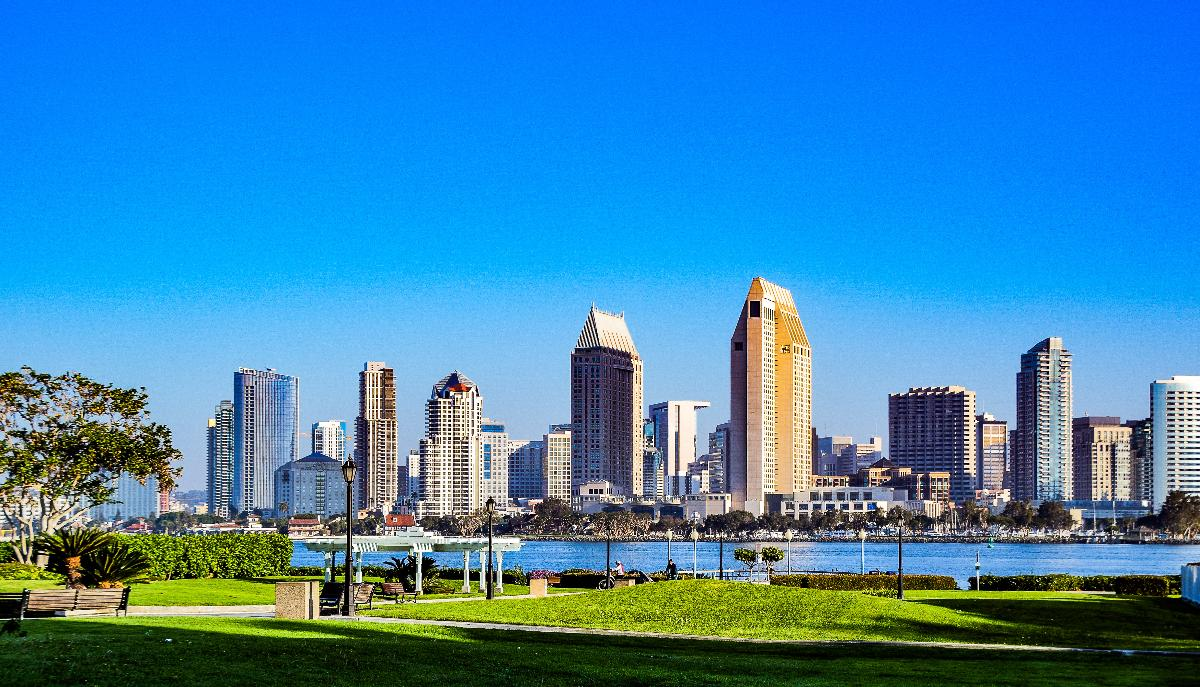 San Diego won the award for the 500,000+ population category
