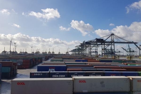 Mesh network deployed at Antwerp Gateway
