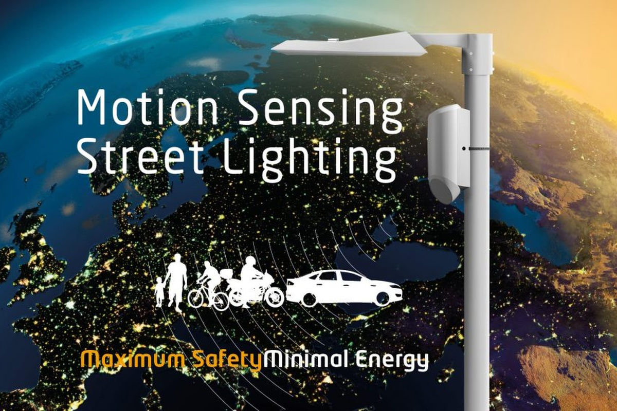 Comlight provides motion sensing street lighting to help pedestrians and drivers