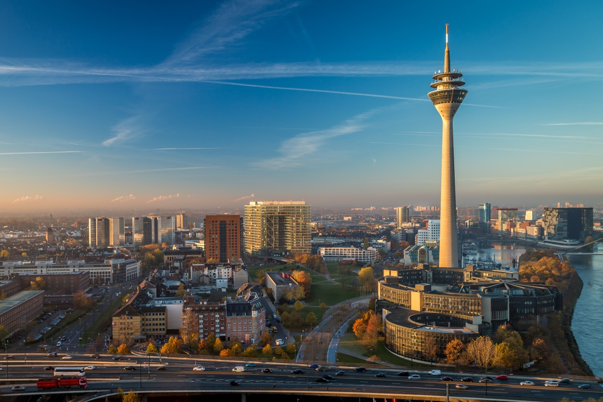 The city of Düsseldorf is preparing itself for the future of mobility