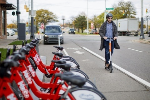 Ford Smart Mobility is expanding its transportation offering with the e-scooter