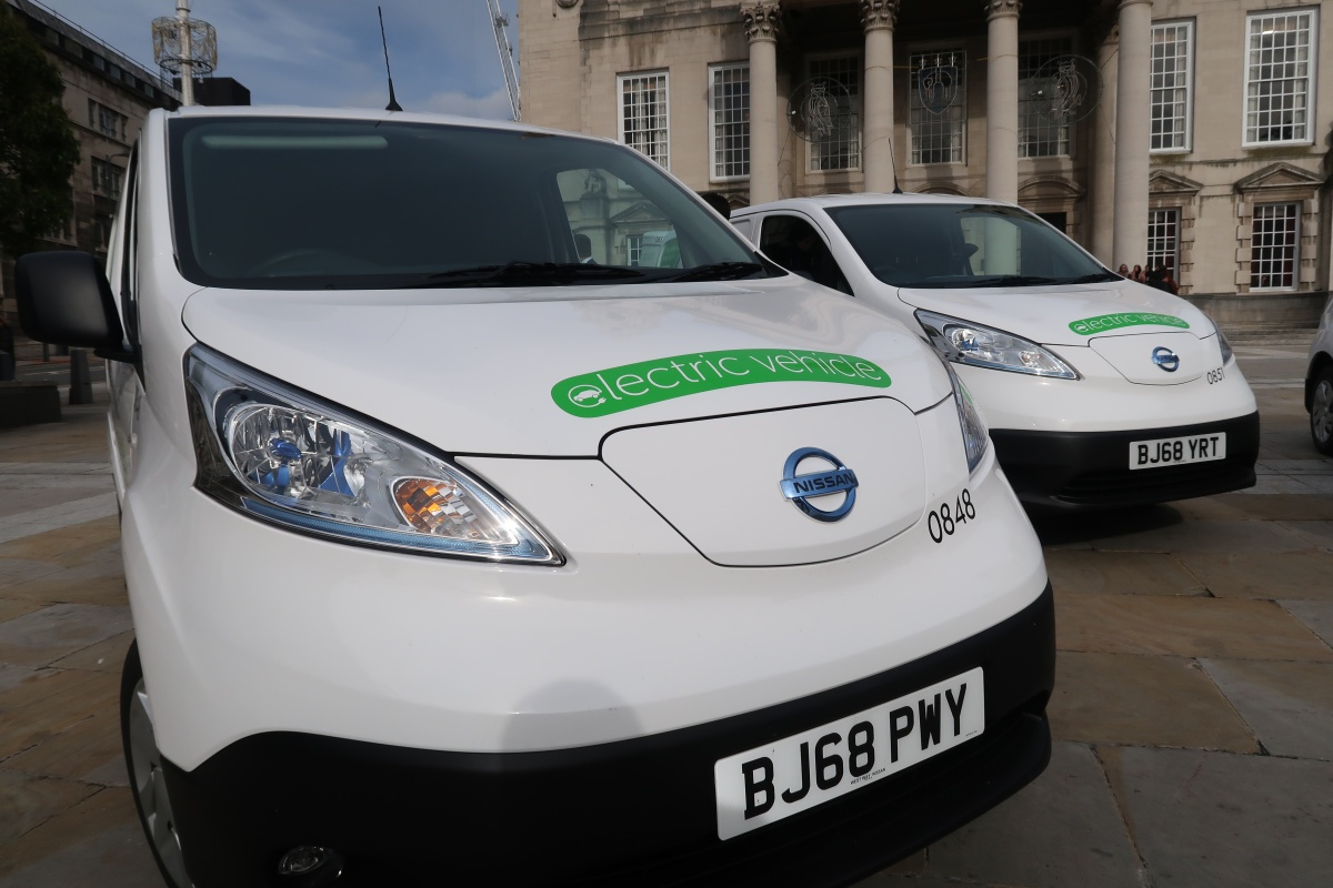 The council is taking delivery of 51 new generation E-NV200s