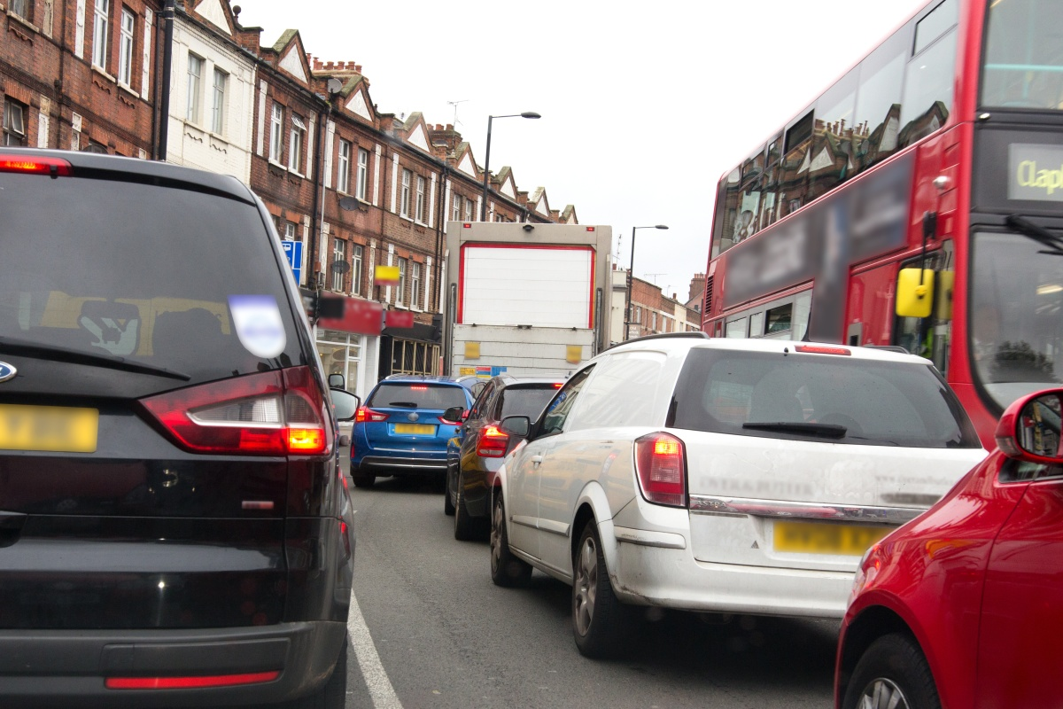 Polluting vehicles account for around 50 per cent of London's NOx air emissions
