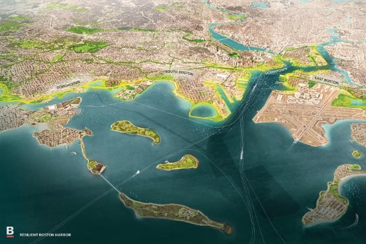 Resilient Boston Harbour will move the waterfront into a new era