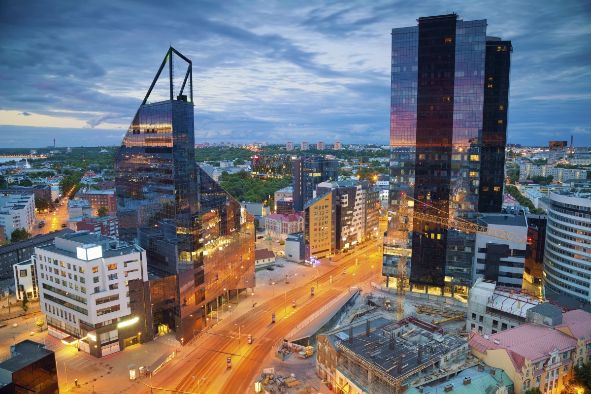 Tallinn: the capital of Estonia. The country saw smart government as a logical alternative