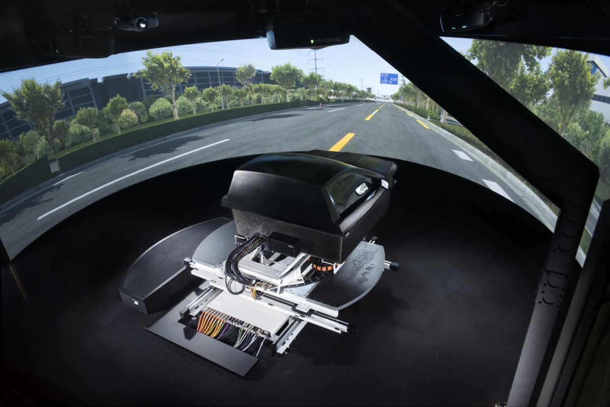 The Ansible Motion simulator aims to enable car makers to build safer vehicles
