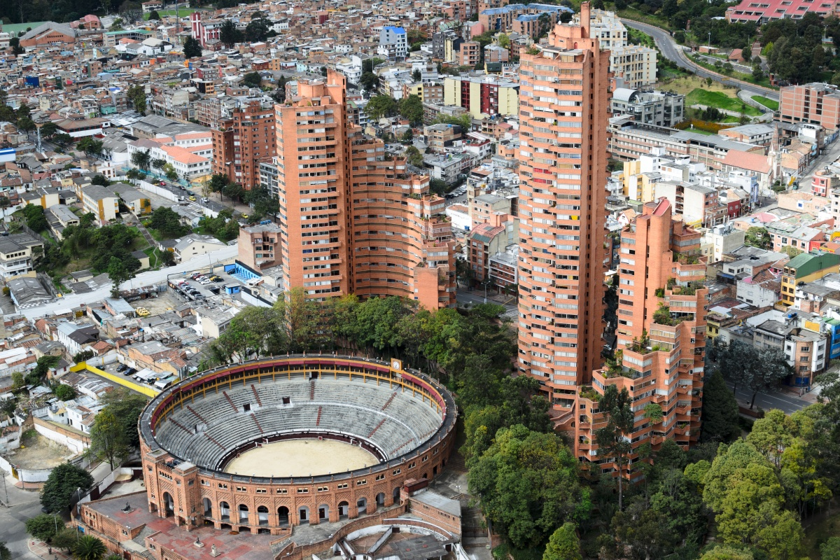 The Colombian capital of Bogota is a finalist in the community category