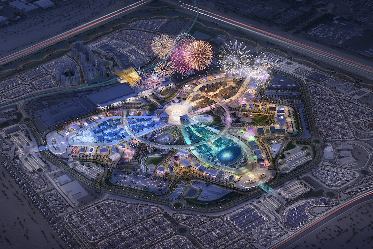 Siemens technology will underpin the World Expo in Dubai. Picture: Expo 2020 Dubai