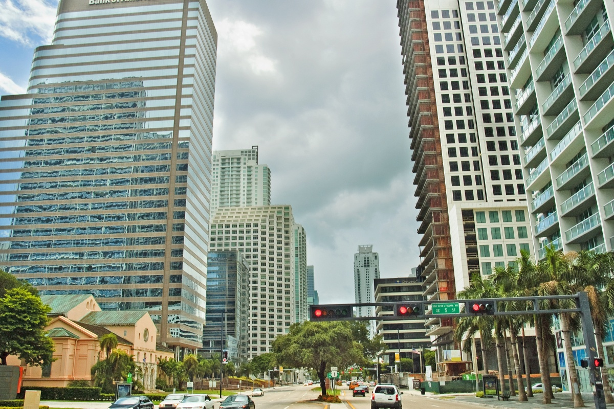 Gig driving had different impacts in Miami depending on traffic, time and location