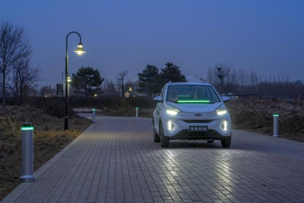China rolls out smart valet parking