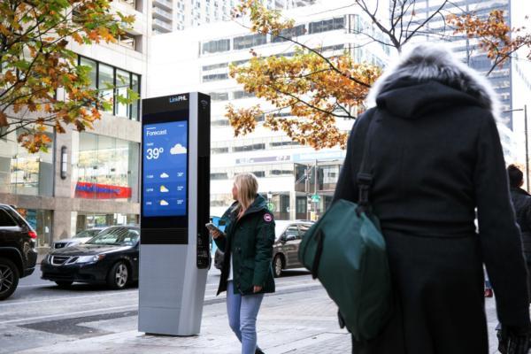 Kiosks deliver free super fast wi-fi to Philadelphia
