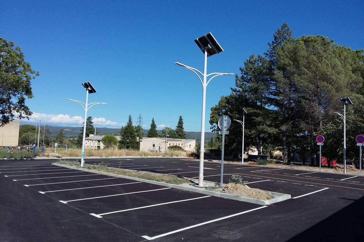 Lumi'in, based in France, has developed a range of solar street lights