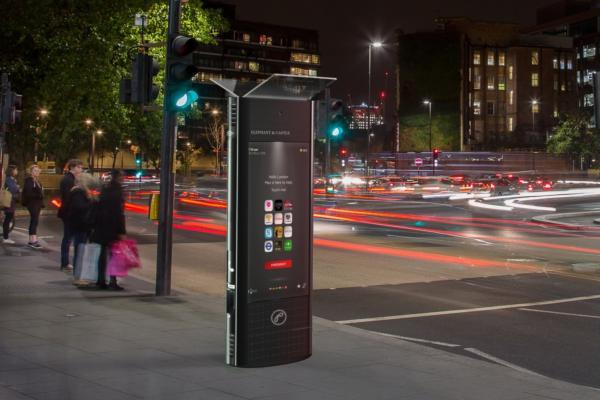 Streetside hubs take UK high street into the digital age