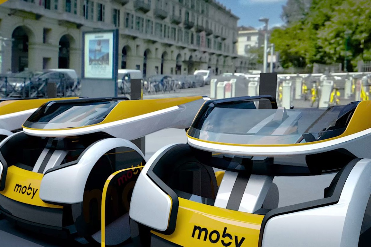 The Moby by Italdesign, a powered wheelchair share scheme. Picture: James Ward