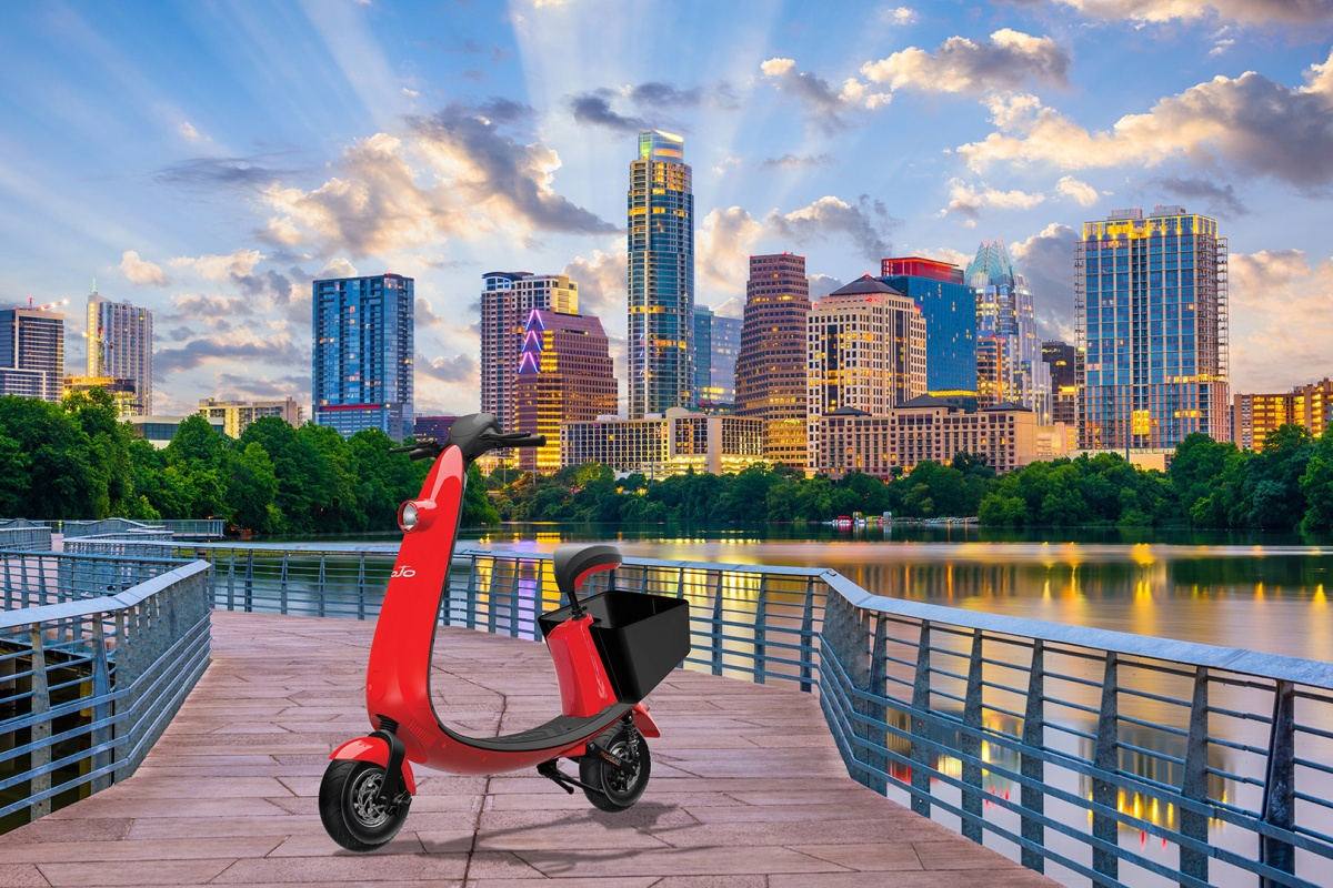 OjO Electric launches the scooter ride-share in Austin