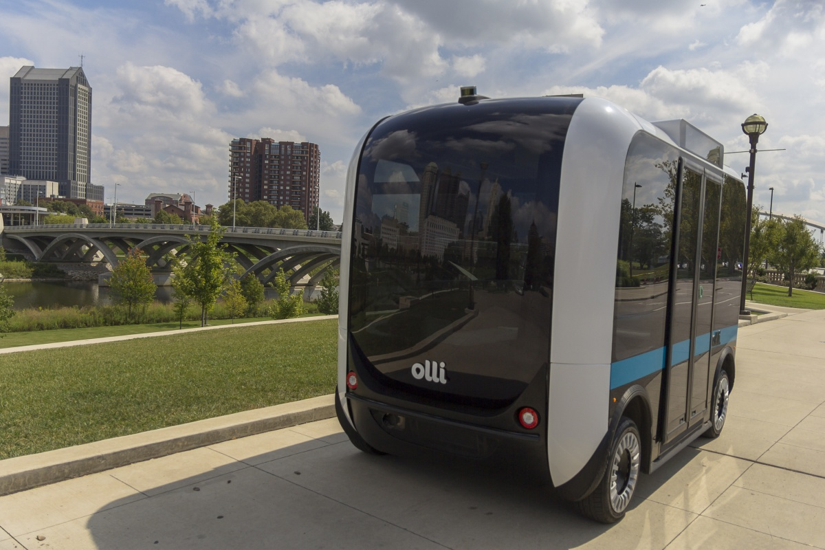 Autonomous shuttle Olli employs a responsive cognitive function