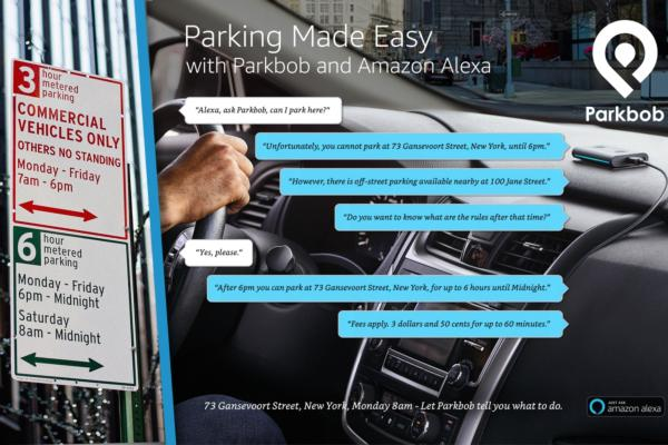 Ask Alexa to help you park