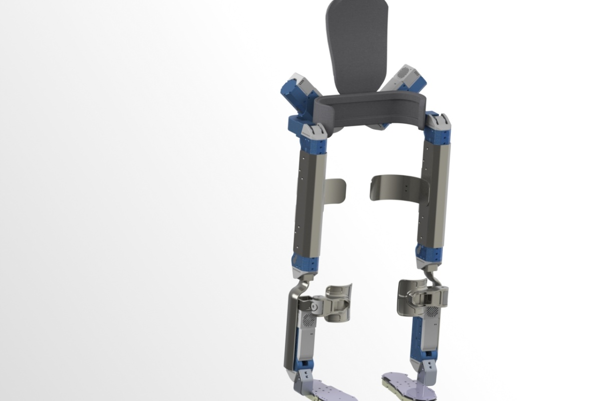 The Quix powered exoskeleton. Picture: James Ward