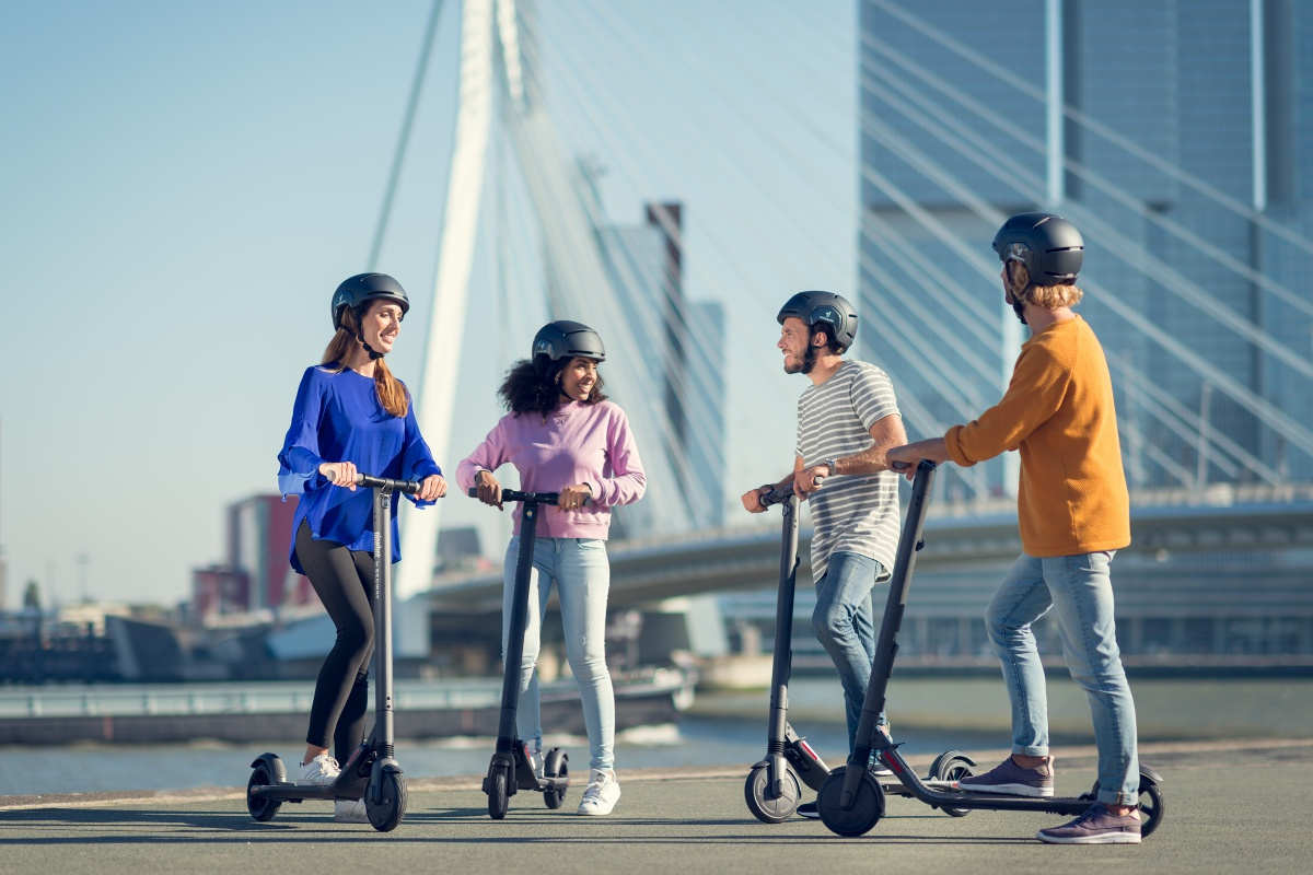 Segway-Ninebot's product line is focused on the short-distance transportation sector