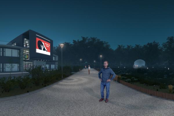 Signify provides planners with virtual city experience