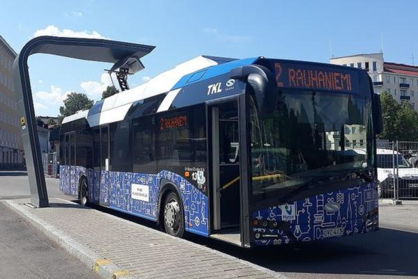Tampere evaluates the benefits of e-buses
